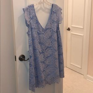 Blue Lace Dress from Nordstrom